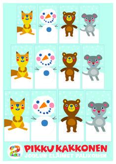 paperileikki I free printable paper | lasten | lapset | joulu | idea | askartelu | kädentaidot | käsityöt | tulostettava | kuva | paperi | koti | leikki | DIY | ideas | kids | children | crafts | paper | picture | christmas | home | Pikku Kakkonen Early Childhood Education, Projects For Kids, Scooby Doo, Diy Gifts, Koti, Printables, Logos, Children, Winter