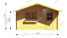 """Cyndy (6x6m) """"Najlepší z najlepších"""" je najlepší spôsob, ako opísať náš záhradný domček Cyndy.  Ponúkame tento model v rozmeroch 4x3, 4x4, 5x4, 5x5, 6x5, 6x6. 4x4, Modeling, Shed, Outdoor Structures, Cabin, House Styles, Home Decor, Decoration Home, Modeling Photography"""