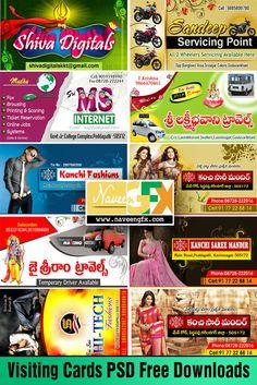 www.NaveenGFX.com: Visiting Card PSD Files Free Download