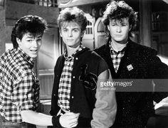 A-HA, Popgroup, Norway - Morten Harket, Paal Waaktaar und Mags Furuholm - 1986