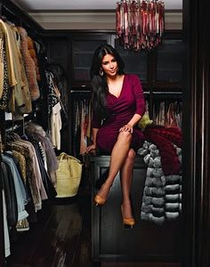 #closets #celebrityclosets #beauty #fashion