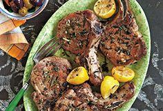Rosemary & Oregano Pork Chops Recipe - Oprah.com