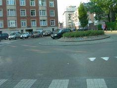Uccle, Belgium. Rue Edith Cavell.