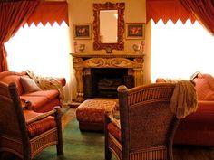 Sitting room orangeness.