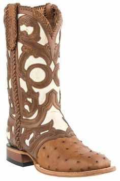 Lucchese Handcrafted 1883 Hand Laced & Tooled Cowboy Boots - Square Toe - Sheplers