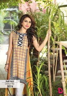 Dawood Summer Collection Latest Kurti Design http://clothingpk.blogspot.com/2015/05/dawood-summer-collection-latest-kurti.html