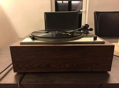 Restored Vintage Lenco L75 turntable.