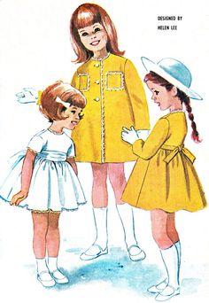 1960s McCalls 6132 Helen Lee Toddler Girls Full by paneenjerez, $18.00