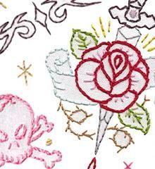 TATTOO YOUR TOWELS - Embroidery Patterns