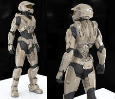 WIP - Female Spartan Armor 2 by SgtHK.deviantart.com on @deviantART