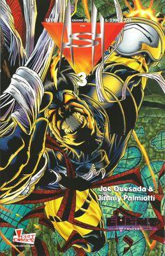 ASH 3, Joe Quesada (cover, pencils and story), Jimmy Palmiotti (inks and story) - Event Comics/Cult Comics, June 2000
