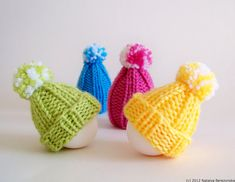 Knitting Pattern Decor Easter Patterns Easter Eggs por Natalya1905