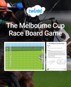 Enjoy your own race with Melbourne Cup games for the classroom. Students can practise their addition facts and exploring the probability of dice rolling. Melbourne Races, Melbourne Cup, Cup Games, Addition Facts, Comprehension Activities, Classroom Displays, Race Day, Task Cards, Dice