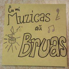 Ĉu mi muzicas aŭ bruas?  #esperanto #frazoj #desegno