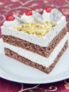 Dračí dort v řezu