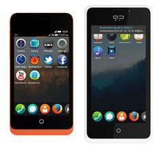 Empresa española saca teléfono móvil corriendo el sistema operativo de Firefox
