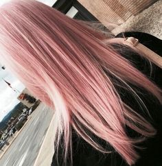 27 Pretty Rose Pink Hair Color Ideas - Page 25 of 26 - Top Trendy Hairstyles Rose Pink Hair, Pastel Pink Hair, Gold Hair Colors, Hair Color Pink, Edgy Hair Colors, Color Blue, Dye My Hair, Ombre Hair, Pink Blonde Ombre