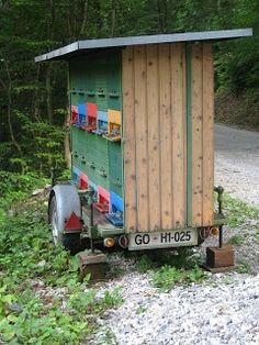 Slovenian Beekeeping bee house