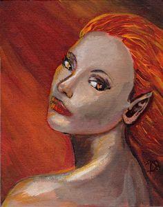 Rising Above - Boudreau Designs | Paintings & Prints, Fantasy & Mythology, Fantasy Men & Women, Females | ArtPal