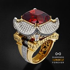 Men's Jewelry Rings, High Jewelry, Men's Jewellery, Ruby Jewelry, Mens Gold Rings, Rings For Men, Ruby Wedding Rings, Gold Chains For Men, Gold Earrings Designs