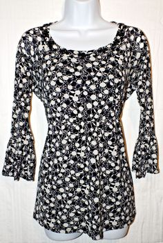 Style&Co Casual Long Sleeve Womens Top Blouse Size M #Styleco #Blouse #Casual