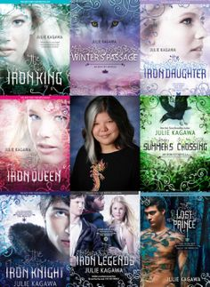 The Iron Fey series by Julie Kagawa. Fell so in love with these books. I usually don't read long series, but I COULD NOT  stop. LOVE.