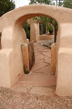 Ricki's door, Santa Fe