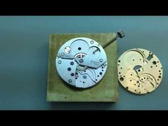 Materials Used in Watchmaking Clock Work, Oras, Barware, Coasters, Study, Watches, Youtube, Jewelry, Studio