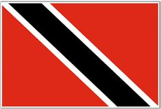Flag of Trinidad & Tobago- the land of my mom and husband