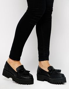 Enlarge ASOS MINDY Chunky Tassel Loafers