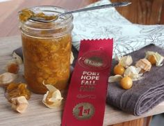 Ground Cherry Jam | Fresh4Five- uses maple syrup