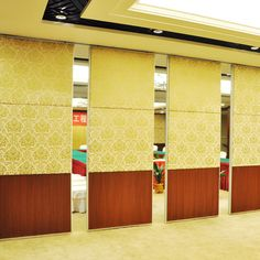 Easy Installation Folding Partition System Office Partition Glass Wall For Office Meeting Room