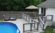 Above Ground Pools Decks Idea | Pool Deck http://www.outdoortheme.com/decks-patios/above-ground-pool ...