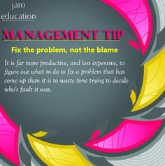 Today's #Management Tip ======================= Enroll Now : http://www.jaro.in/ #MBA #Online #JaroEducation