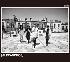 [ALEXANDROS] 2018年第一弾ニューシングル『KABUTO』5月23日(水)発売 「ハナウタ」含む全3曲|邦楽・K-POP|ローチケ×HMV&BOOKS onlineニュース