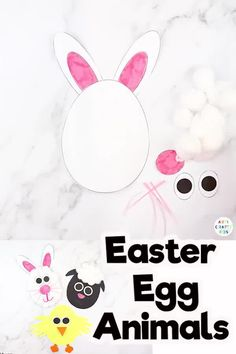 Easter Eggs Crafts for Kids Ideas - Easter Crafts For Kids - Looking for Easter eggs crafts ideas for kids to make at preschool / in the classroom or at home? Easy Preschool Crafts, Fun Easy Crafts, Easy Arts And Crafts, Easter Crafts For Kids, Animal Crafts For Kids, Spring Crafts For Kids, Crafts For Kids To Make, Kids Diy, Easter Eggs Kids
