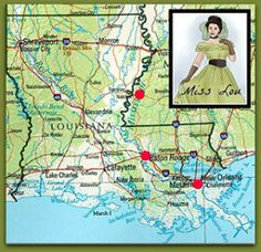 Enjoy a tour from NOLA through Baton Rouge and up to Natchez, MS (or any order of the three) with the Meet Miss Lou B&B travel special!