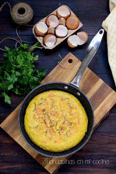 2Mandarinas en mi cocina: Tortilla de hortalizas. Receta de aprovechamiento