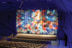 Digitally Printed Curtains for New York's Museum of the Moving Image