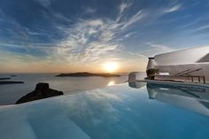 This unique Kapari Natural Resort is located in Santorini, Greece.