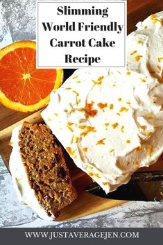 Slimming World Friendly Carrot Cake astuce recette minceur girl world world recipes world snacks Slimming World Carrot Cake, Slimming World Desserts, Slimming World Recipes Syn Free, Slimming World Puddings, Slimming World Biscuits, Slimming World Plan, Carrot Recipes, Cake Recipes, Dessert Recipes