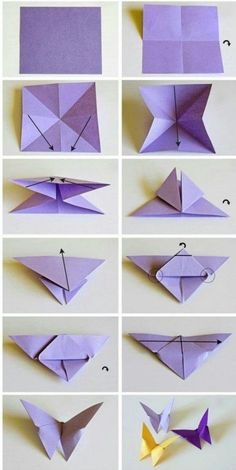 origami butterflies how to make a paper butterfly easy origami . origami butterflies how to make a paper butterfly easy origami . Origami Design, Instruções Origami, Star Wars Origami, Origami Fish, Paper Crafts Origami, Origami Stars, Diy Paper, How To Origami, Paper Folding Crafts