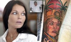 Fan gets Schapelle Corby's face TATTOOED on their leg