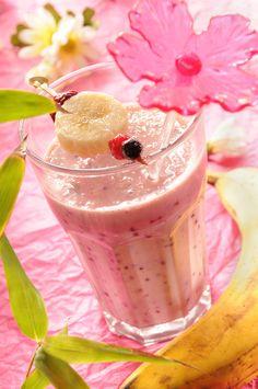 Smoothie aux fruits rouges, et plein d'autres recettes à réaliser facilement, pour un brunch au top. Cliquez sur aufeminin !