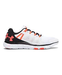 huge selection of 808cb c0fff Under Armour Womens UA Micro G Limitless TR WhiteBlackNeon Coral Sneaker 85  B M    . Womens Training ShoesCross ...