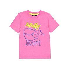 Shark Slogan T-Shirt | Kids | George