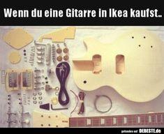 Wenn du eine Gitarre in Ikea kaufst..