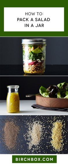 Say goodbye to sad and soggy salads with this lunch hack.