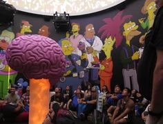 Inside Homer's Dome #everysimpsonsever