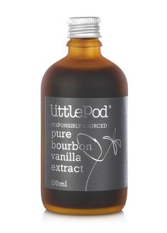 Devonshire based company Little Pod use only the best ingredients, specifically pure Madagascan Vanilla, for their extract and paste.�7.95 per 100.00ml